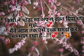 Shayri in hindi love status