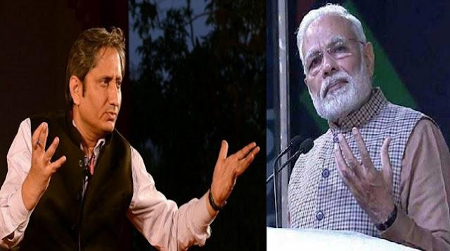 आर्थिक मोर्चे में लगातार लुढ़कती सरकार को क्यों चाहिए कश्मीर कश्मीर - रवीश कुमार