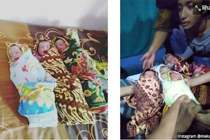 Innalillahi, Seorang Ibu Wafat dengan Wajah Tersenyum Sesaat Usai Melahirkan 3 Bayi Kembar di Medan