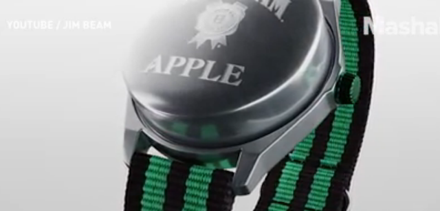 Jim Beam published its own Apple Watch