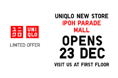 Uniqlo Malaysia Opening Special Discount Promo