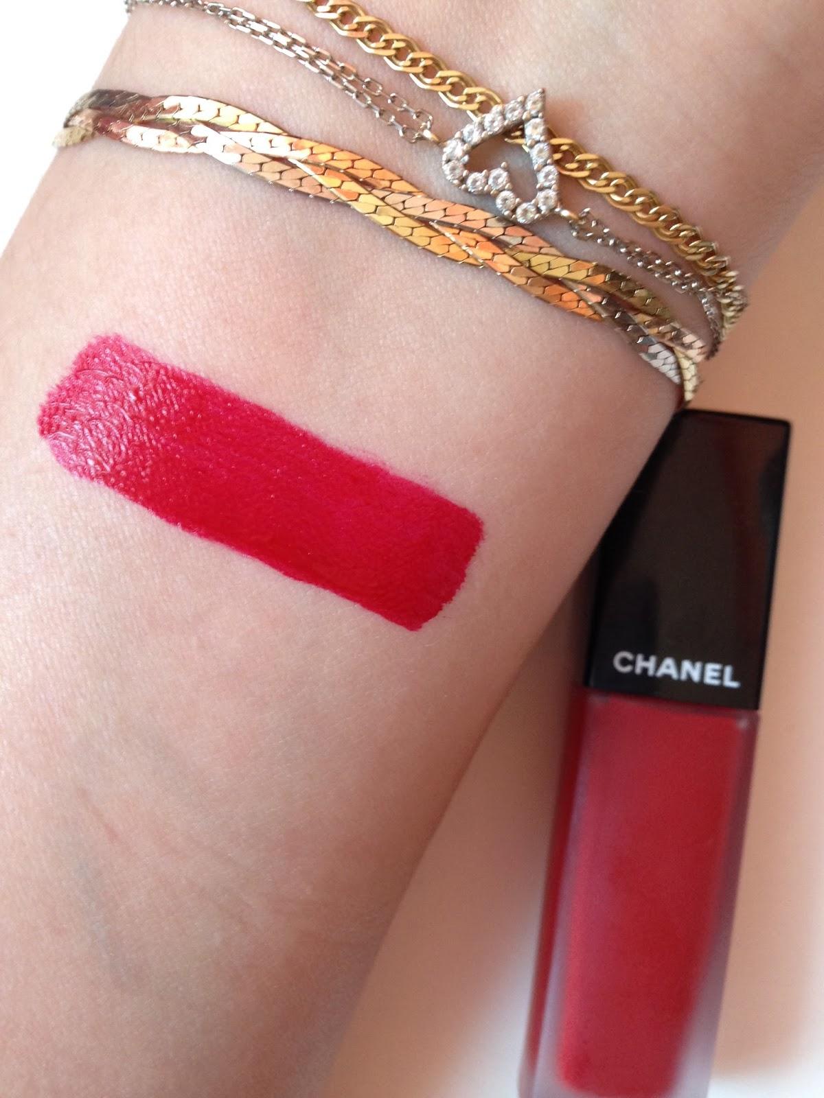 Rouge Allure Ink Matte Liquid Lip Colour by Chanel #12