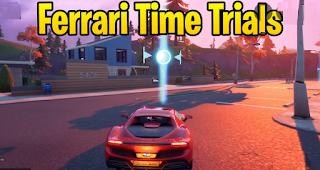 Ferrari time trials in Fortnite Season 7, How to complete ?