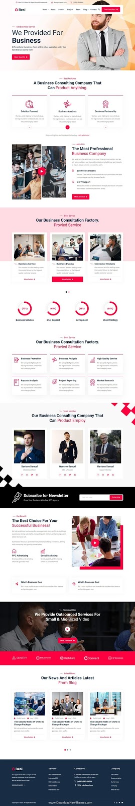 Download Business and Agency Template