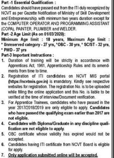 DRDO ITI Apprentice Trainee Recruitment 2020