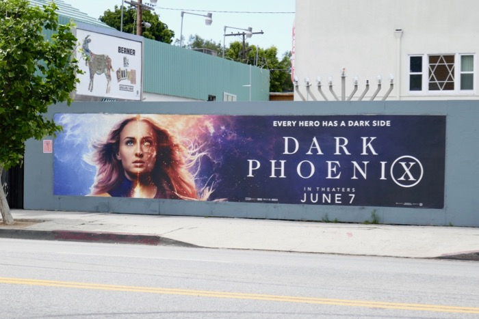 Dark Phoenix billboard