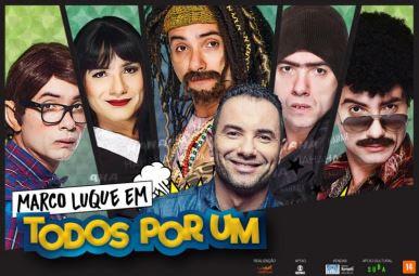 Marco Luque retorna aos palcos com diversidade de personagens