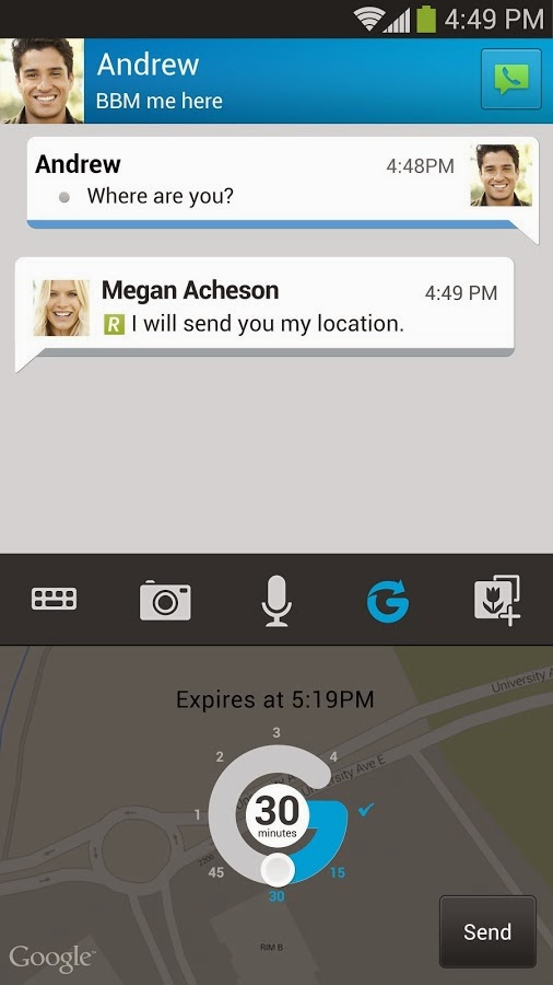 Aplikasi BBM Untuk Android (Review)