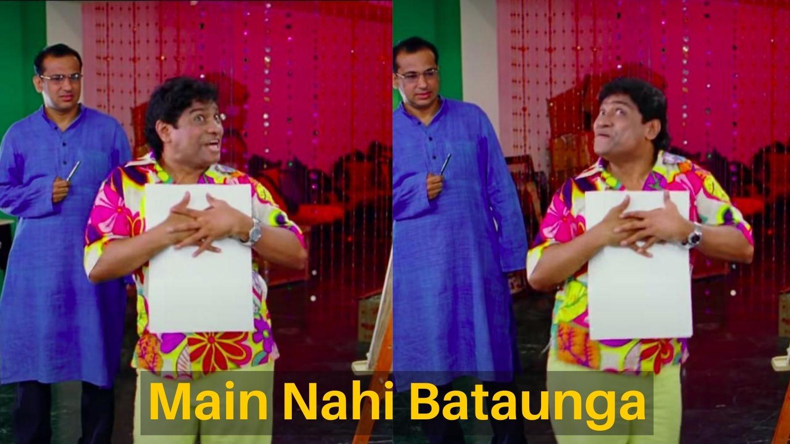 mai nahi bataunga meme template