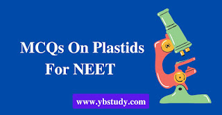 MCQs on plastids for NEET