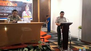 BNPB Gelar Pembekalan Kesiapan Menghadapi Karhutla Di Jambi