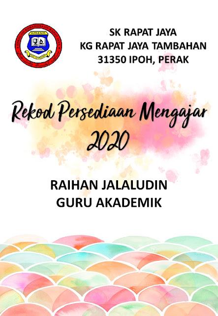 Kandungan Fail RPH 2020 - Versi 2