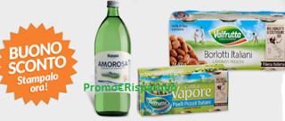 Logo Sconty: buoni sconto Acqua Amorosa e Valfrutta