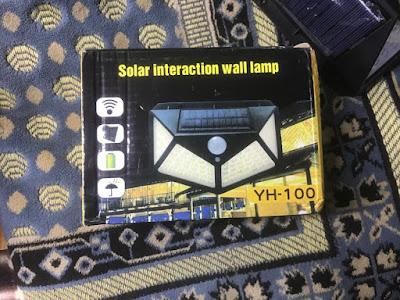 سعر كشاف ليد بالطاقة الشمسية