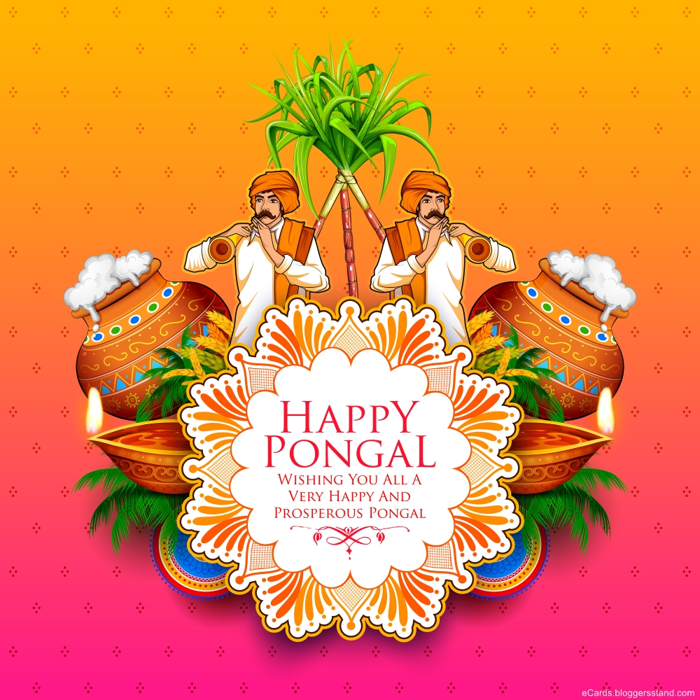 Happy Pongal wishes images 2021
