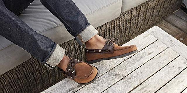Chaussures bateau homme / docksides pas cher  : Tendance mode 2019