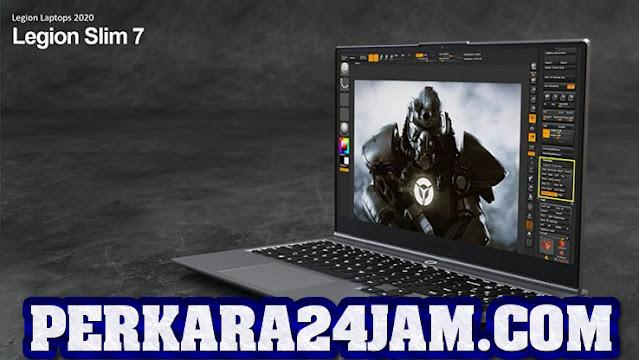 Fendor Lenovo Rilis Laptop Gaming Legion Slim 7i Seharga Rp 28 Juta