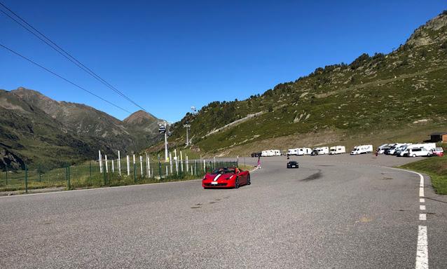 Ferrari en Ordino Arcalis