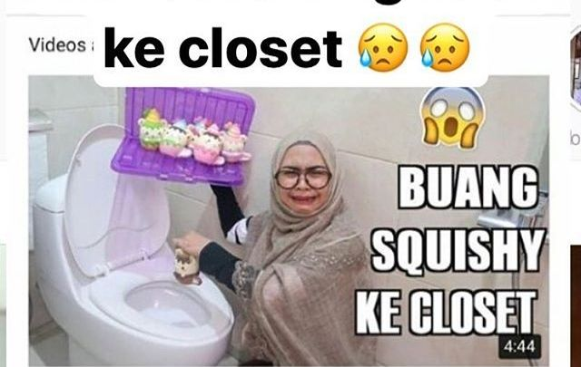 Gara-gara Vlog Buang Squishy ke Kloset, Ria Ricis Diamuk Netizen