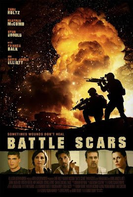Battle Scars 2015 DVD R1 NTSC Latino