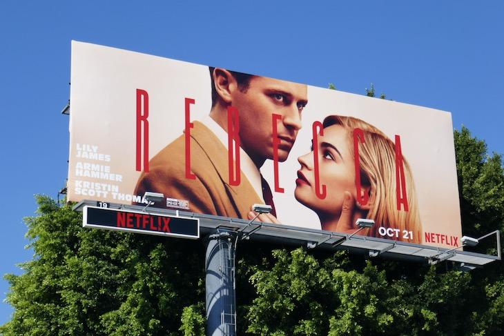 Rebecca film remake billboard