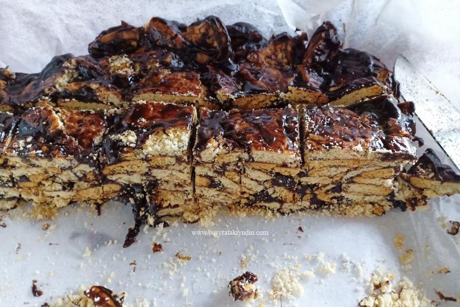 resepi kek batik, kek batik crunchy, milo, serbuk koko, kek batik untuk jual, buttercup,