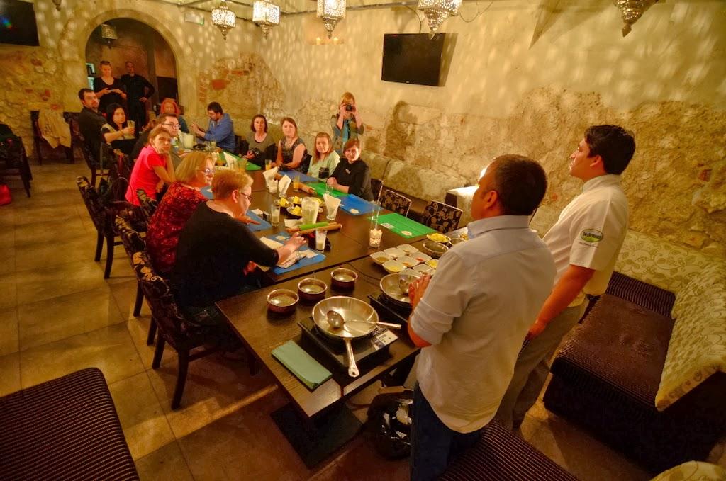 Warsztaty kuchni indyjskiej w Ganesh