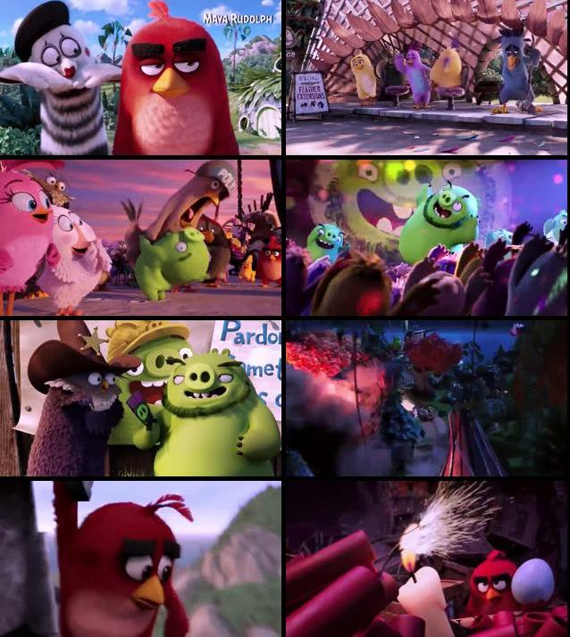 The Angry Birds Movie 2016 Dual Audio Hindi 720p WEBRip
