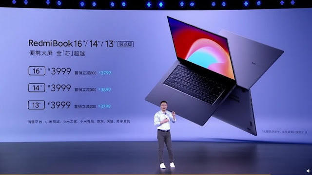 Xiaomi Luncurkan Laptop RedmiBook