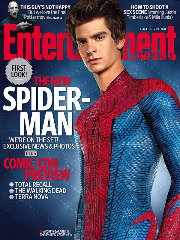 The Amazing Spider-man en Entertainment Weekly