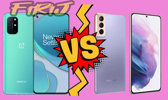 Comparaison entre Samsung Galaxy S21 contre OnePlus 8T