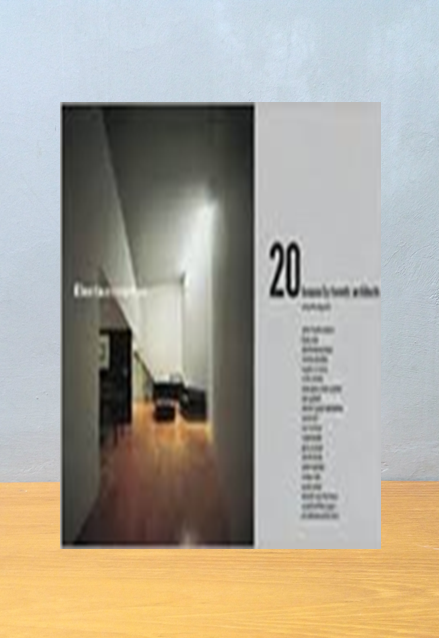 20 HOUSE BY TWENTY ARCHITECT Mercedes Daguerre
