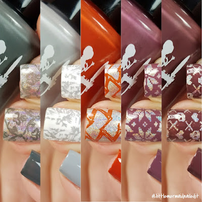 Girly Bits Cosmetics Fall 2017 Collection Part 2 Swatches and Review