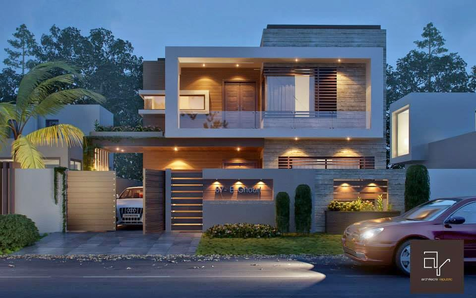 10 Marla House at Bahria Town Lahore ~ 3D Front Design.Blog