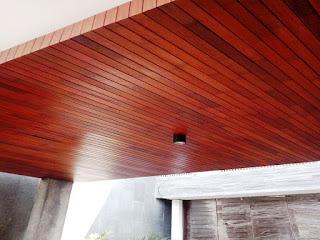 plafon kayu makassar