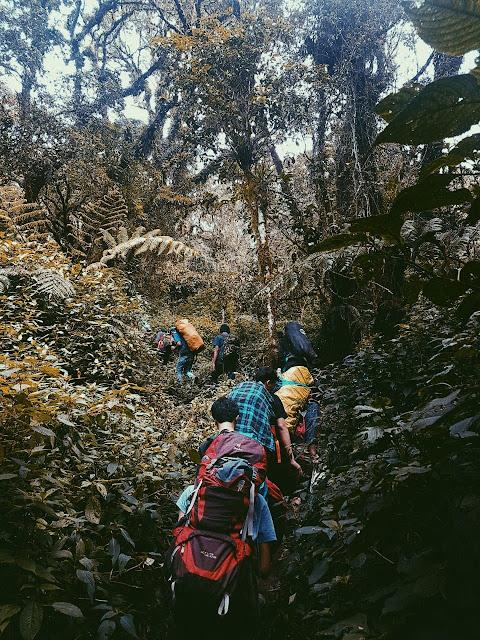 Memasuki musim hujan , perhatikan 8 tips berikut ini jika kamu ingin mendaki
