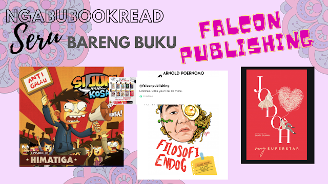 NgabuBookRead Seru Bareng Buku Terbitan Falcon Publishing