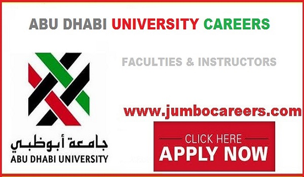 Teaching Faculty jobs abu dhabi, teacher jobs abu dhabi