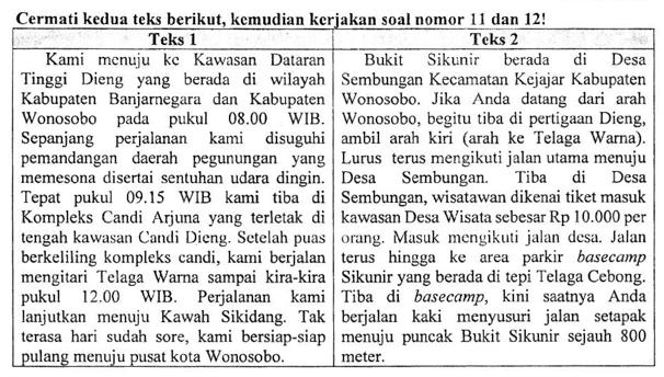 Soal Membandingkan Penggunaan Bahasa Dua Teks Dan Pembahasan Soal Un Smp Tahun 2019 Zuhri Indonesia
