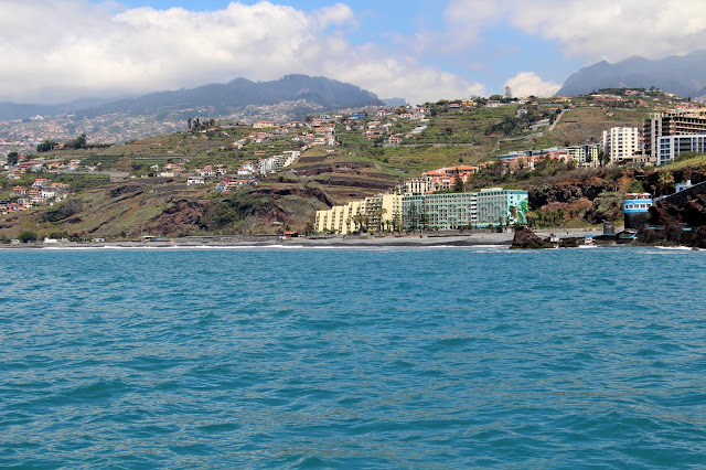 Praia Formosa, the best natural beach of Funchal