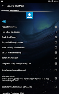 BBM MOD Tema Transparan v 3.0.1.25 Apk Update Terbaru 2016 Gratis