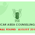 ICAR-Mop-up/Final round of AIEE-2019 online counseling | August 2019