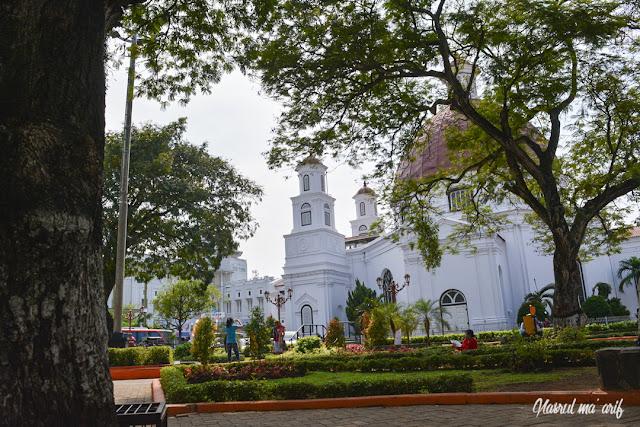 Gereja Blenduk di Kota Lama Semarang
