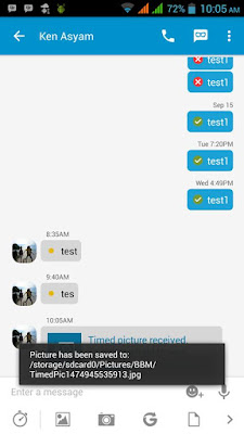 BBM MOD v3.0.1.25 APK With Save Timed Pictures