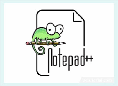 Download Notepad++ Portable 32-64bit Terbaru zotutorial.com
