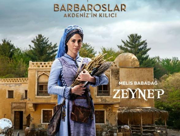 Barbaroslar Akdeniz'in Kılıcı Zeynep Kimdir?