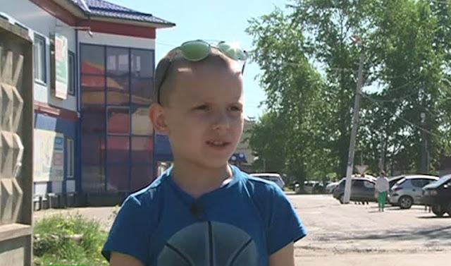 10-летний Максим не прошел мимо мужчины лежащего на земле и этим спас ему жизнь