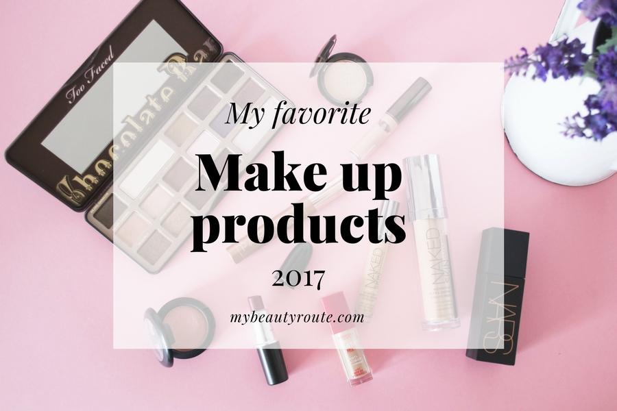 Mis productos favoritos de maquillaje 2017