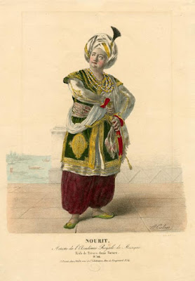 Adolphe Nourrit in the title role of Tarare by Antonio Salieri