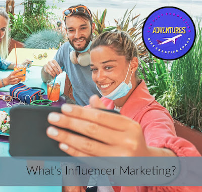 What's influencer marketing and a sponsored post?